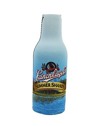 Offizielles Lizenzprodukt Leinenkugel Sommer Shandy Flasche Anzug Neopren Bier Huggie Kühler Reißverschluss Sleeve blau