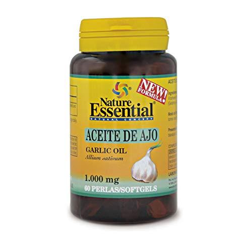 NATURE ESSENTIAL | Aceite de Ajo 1000 mg | 60 Perlas