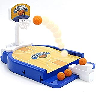 Mini Basketball Table Game - Miniature Game for Ages 3 and Up | Classic Mini Basketball Tournament Table Top Games for Sports Fans and Fanatics