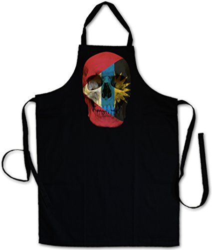 Urban Backwoods Classic Antigua And Barbuda Skull Flag Tablier De Cuisine Cuisson Gril BBQ Barbecue