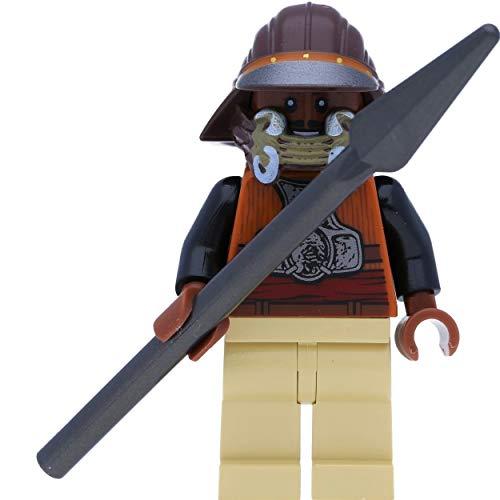 LEGO Star Wars - Figura de Lando Calrissian como guardián de Skiff Guard, guardián con Blaster