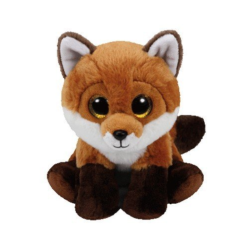 Carletto Ty 90241 Fay Brown Fox 90241-Fay-Fuchs mit Glitzeraugen, braun