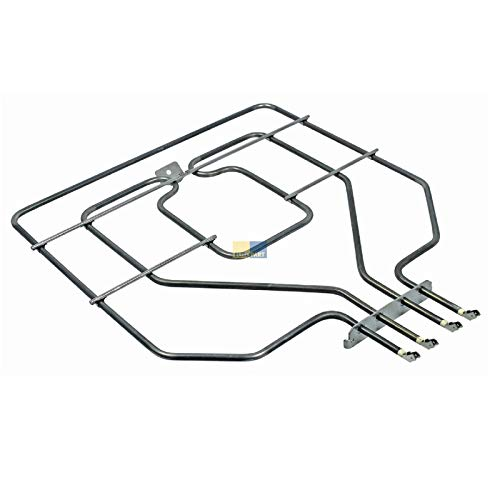 DL-pro Heizung Oberhitze passend für Bosch Siemens Neff Balay Constructa Profilo Heizelement 471369 00471369 773539 00773539 Oberhitzeheizung EGO 20.25899.000 für Backofen Herd