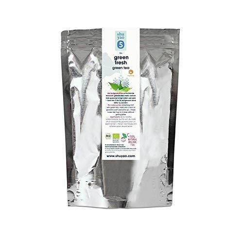 Shuyao Green Fresh Grüner Bio Tee mit Minze und Zitronengras (250g Refill Tüte)