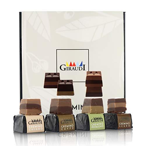 Scatola di 16 cioccolatini Artigianali Cremini, 160 Grammi, Linea Cremini