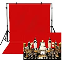 TOAOFY 5x7-Feet Professional Backdrop for Photography (Red)