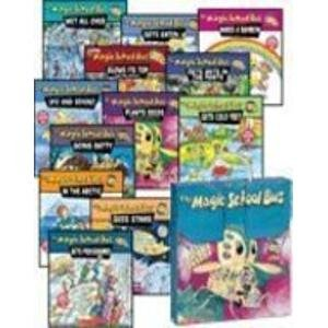 THE MAGIC SCHOOL BUS BRIEFCASE (12-BOOK SET IN CARRYING CASE) (The Magic School Bus … Blows Its Top: A Book About Volcanoes, Gets Ants in Its Pants: A Book About Ants, Gets Cold Feet: A Book About Warm- and Cold-Blooded Animals, Gets Eaten: A Book About Food Chains, Gets Programmed: A Book About Computers, Going Batty: A Book About Bats, In the Arctic: A Book About Heat, Makes a Rainbow: A Book About Color, Plants Seeds: A Book About How Living Things Grow, Sees Stars: A Book About Stars, Ups and Downs: A Book About Floating and Sinking, Wet All Over: A Book About the Water Cycle)