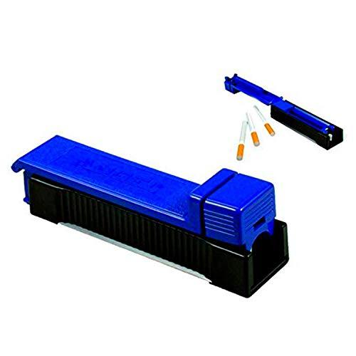 kogu 2er Set Stopfmaschinen für Zigaretten zum Stopfen, Stopfgerät blau, kompakte Zigarettenstopfmaschine 2 Stück