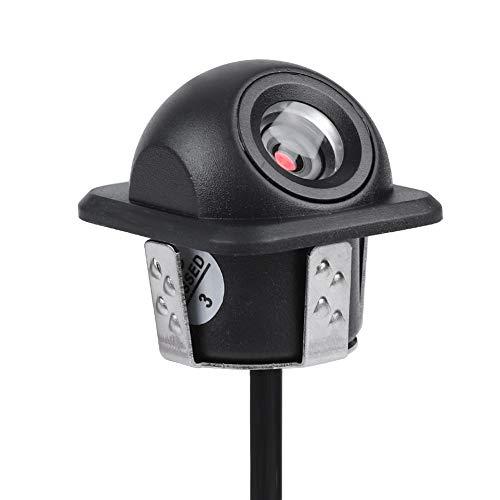 Cámara de copia de seguridad de estacionamiento, Tangxi 170 ° HD Amplio ángulo de visión Cámara frontal de visión/espejo retrovisor del automóvil a prueba de agua