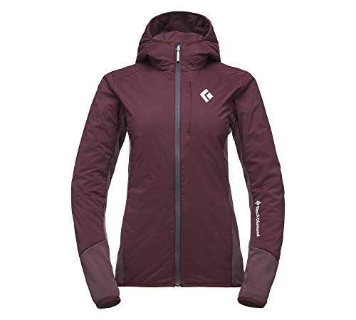 W First Light Hybrid Hoody - Black Diamond, Farbe-BD:Bordeaux, Groesse-BD:Medium