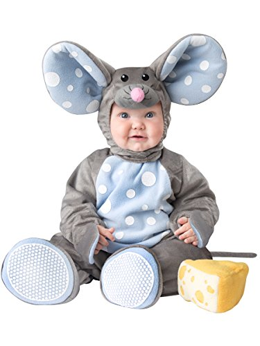 Infant Mouse Costume With Plush Cheese Toy