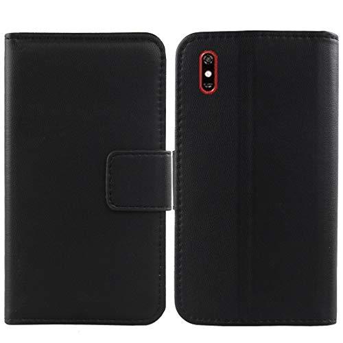 Lankashi Flip Echt Leder Tasche Für TP-Link Neffos C9 Max 6.09