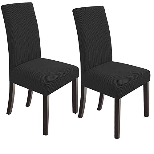 NORTHERN BROTHERS Stretch Chair Slipcovers for Dining Room Set of 2