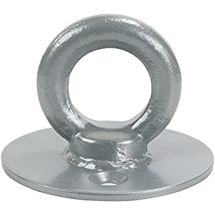 Ryde Hoop Top Ground Security Anchor - Silver