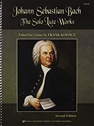 WG100 - The Solo Lute Works of Johann Sebastian Bach for Guitar