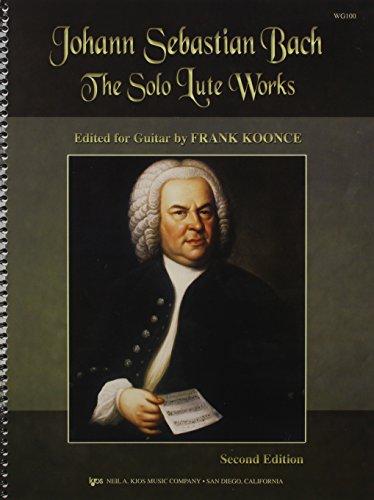 Solo Lute Works -Arranged For Guitar- (Arranged by Koonce): Noten für Gitarre