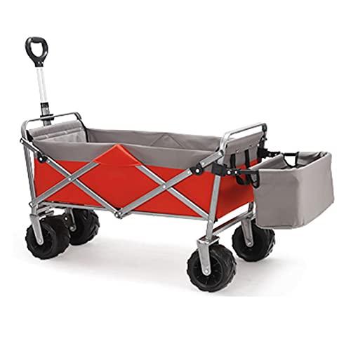 Garden Trolley Buiten Tuinwagen, Opvouwbare En Draagbare Opbergtrolley Voor Kamperen/Picknicken/Strand, Gemakkelijk Te…