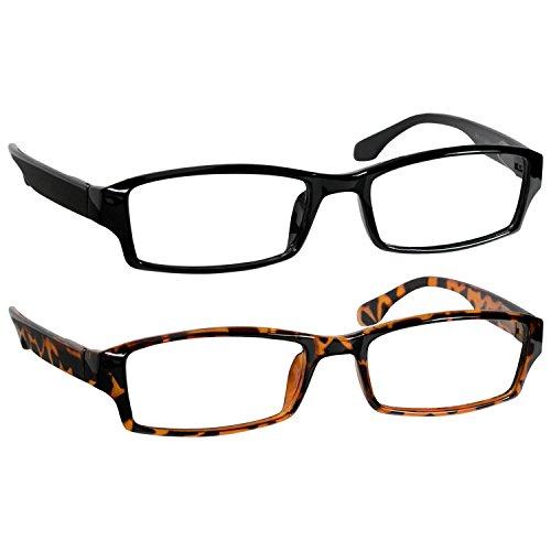 Reading Glasses - 9501HP -2-BLACK-TORTOISE-600