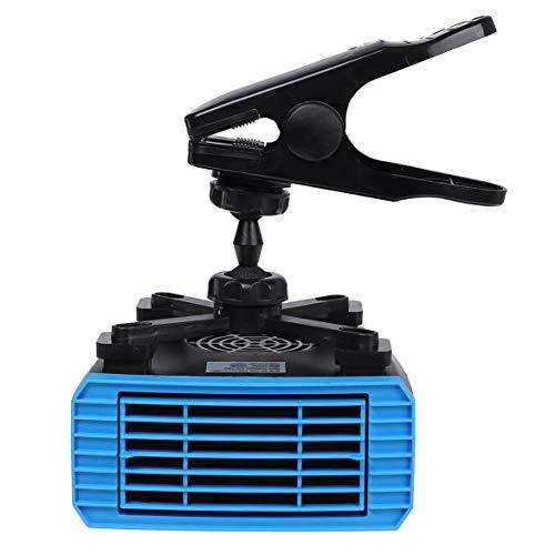 Huante Ventilador de 150 W para calentador de coche, 12 V, 2 en 1, calentador de coche, calentador de parabrisas, descongelador