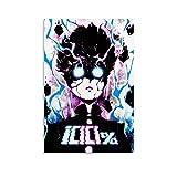 XFVS Mob Psycho 100 Canvas Art Poster Poster dekorative