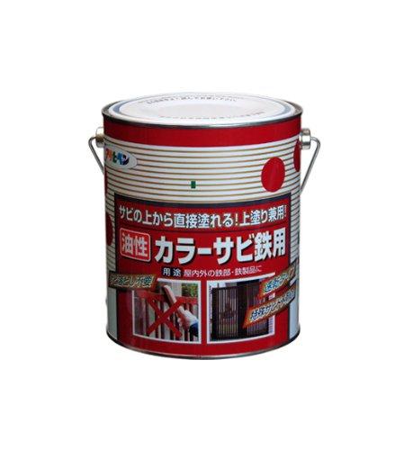 アサヒペン カラーサビ鉄用 1.6L 青