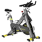 pooboo Indoor Exercise Bike Commercial Stationary Bike Belt Drive Indoor Cycling Bike with 42 LB...