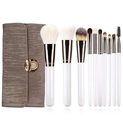 10 outils de beauté professionnels de laine de brosse de maquillage multi-fonction