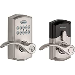 The SmartCode 955 electronic lever door lock has a robust metallic design for enhanced durability and security which includes a 3 year battery life This lever is BHMA Commercial Grade 2 certified; and BHMA certified AAA highest residential security, ...