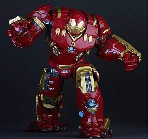 XINKONG Verrücktes Spielzeug Avengers Hulkbuster 25cm Ironman PVC Action-Figur Sammler Modell Spielzeug (Color : No Box)