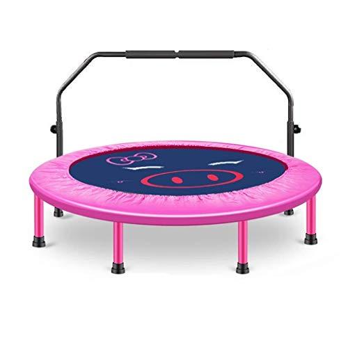 Kleine trampoline Draagbaar en Opvouwbaar Trampoline met handvat, 48