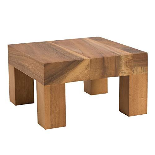 T & G Woodware Gf194 Table en bois Riser, 120 mm de hauteur
