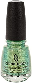 China Glaze Nail Lacquer, Twinkle Twinkle Little Starfish, 0.5 Ounce by China Glaze