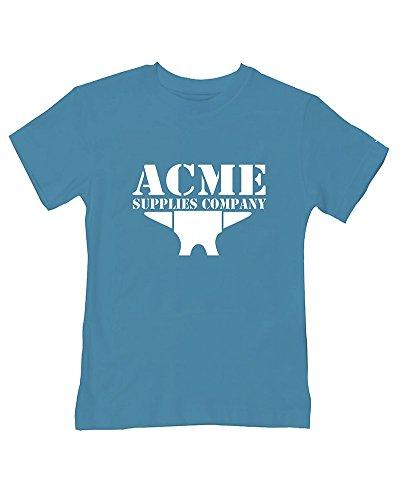 Acme Anvil – Supplies, Company – T-shirt humoristique pour bébé/enfant - Turquoise - 2-3 ans