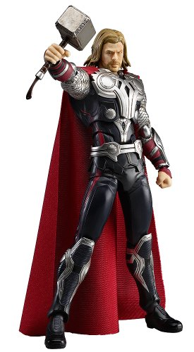 figma Avengers saw (non-scale ABS & PVC painted figures moving)