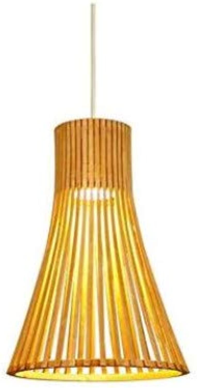 Retro Lichtnordic Garden Chandelier Einzelner Kopf Massivholz Einfache Kreative Leuchter