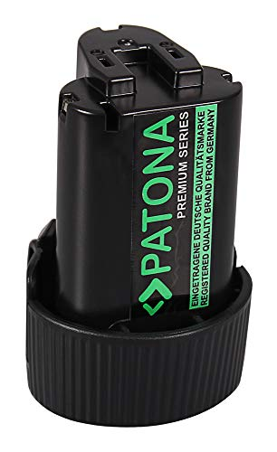 PATONA - Batería de Ion de Litio para Makita BL1013 CC300 CC300D CC300DWE CC300DZ CL100 CL100D