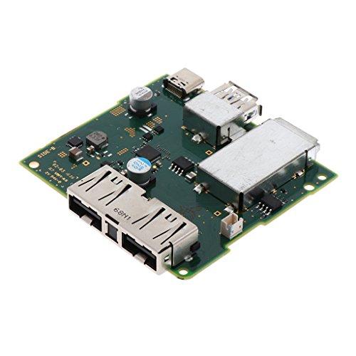 Homyl Substitua O Carregador Da Placa de Carregamento Da Placa-mãe HDMI Dock Fit para Switch