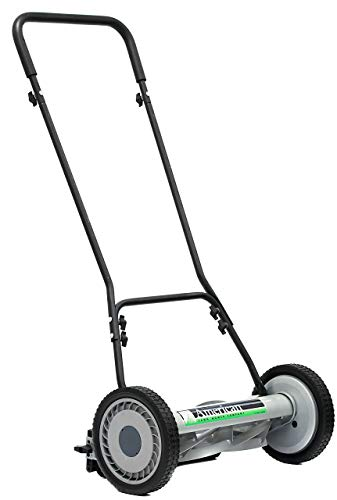 American Lawn Mower Company 1815-18 815-18 Reel Lawn Mower, 18-Inch, 5-Blade, Black (Renewed)
