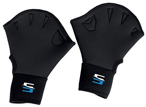 Seac Unisex-Adult Handschuhe aus Neoprene für Aquafitness-Training, schwarz, XL