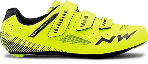 Northwave Core Rennrad Fahrrad Schuhe gelb/schwarz 2019: Größe: 47