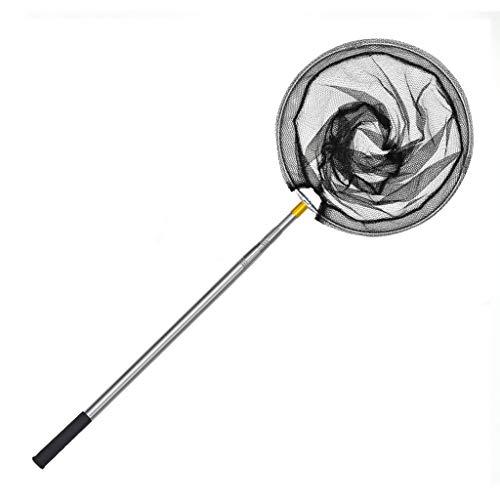 XINGZHE Fishing Net Thick Stainless Steel Telescopic Net Rod Handle Ultra-Light Folding Fishing Landing Net cast net (Size : 2.1m)