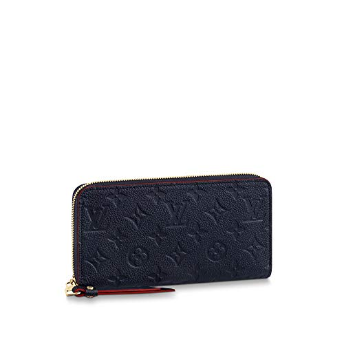 Louis Vuitton Zippy Wallet Monogram Empreinte Leather (Marine Rouge)