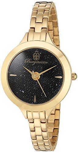 Burgmeister-Orologio da donna al quarzo con Display analogico e braccialetto in acciaio INOX con 536-222 BM
