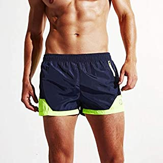 BEESCLOVER Men Summer Casual Men Sports Shorts Breathe Shorts Water Quick Dry Shorts Color Loose Running Shorts