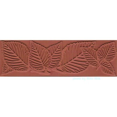 Leafy Border Texture Mat - 1 pc
