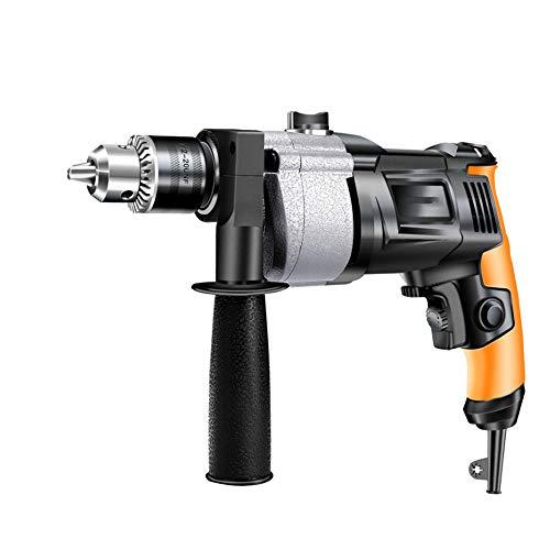 NCBH elektrische schroevendraaier kleine boor pistool verstelbaar 220 V aluminium goud oranje zwart geschikt voor familie knutselen