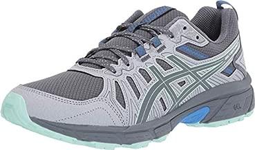 ASICS Women's Gel-Venture 7 Trail Running Shoes, 8.5, Sheet Rock/ICE Mint