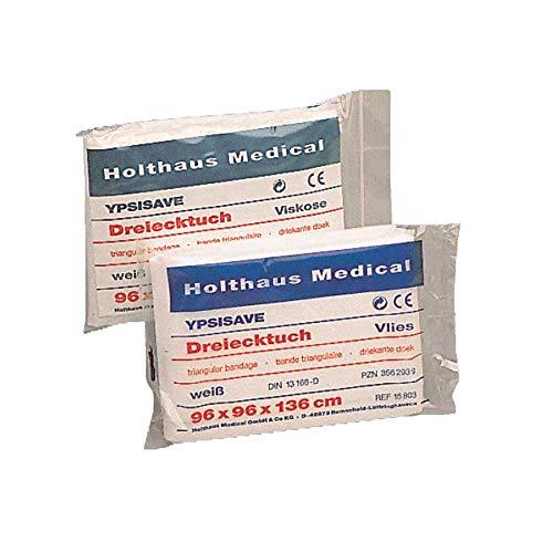 Holthaus Medical Dreiecktuch YPSISAVE, Armtragetuch, Verband DIN 13168, weiß, Vlies, 1St
