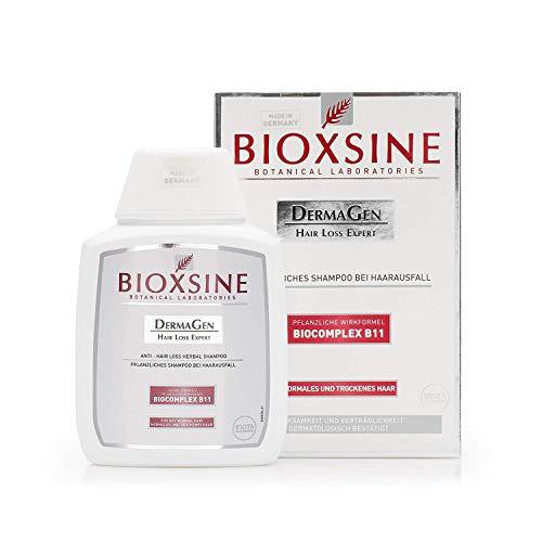 BIOXSINE Shampoo für normales und trockenes Haar - gegen Haarausfall bei Frau und Mann | mit pflanzlichem Haarwaschmittel das Haarwuchs beschleunigen | schnelles Haar-wachstum 100 ml