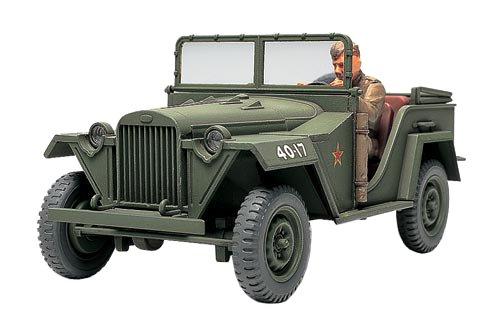 タミヤ 1/48 ミリタリーミニチュアシリーズ No.42 ソビエト陸軍 フィールドカー GAZ-67B プラモデル 32542